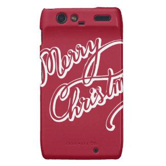 Happy Merry Christmas Droid RAZR Cases