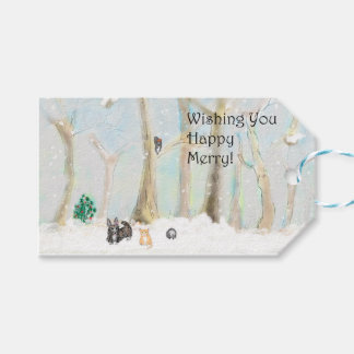 Happy Merry! Gift Tags. Gift Tags