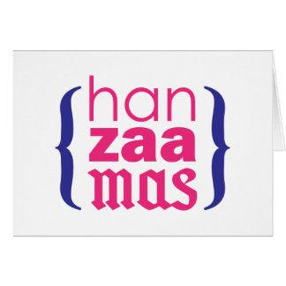 Happy Merry HanZaaMas Card