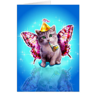 Happy Mew Year Greeting Cards