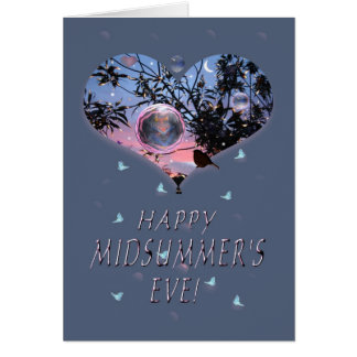 Happy Midsummer's Eve! Greeting Card