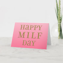 Happy MILF Day Card