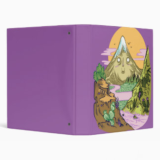 Happy Mnt 3 Ring Binder
