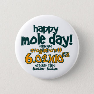 HAPPY MOLE DAY !! BUTTON
