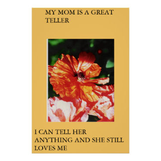 HAPPY MOMMIES DAY POSTER