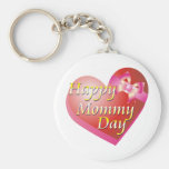 Happy Mommy Day Shirt Keychain