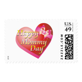 Happy Mommy Day Shirt Postage