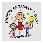 Happy Mommy's Day Poster