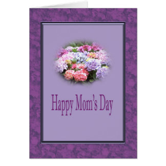 Happy Mom's Day - Hydrangea Card