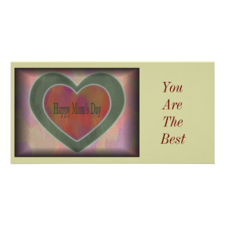 Happy Mom's Day Photo Greeting Card
