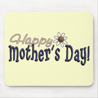 happy_moms_day_wordart mouse pad