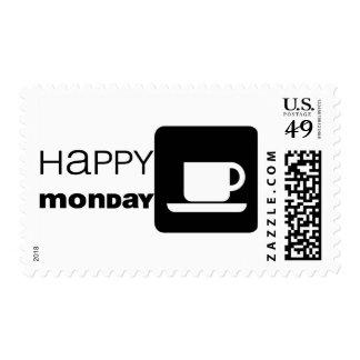 Happy Monday  Humor! Stamp