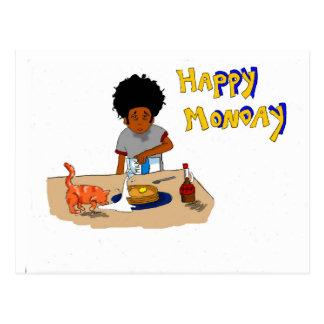 Happy Monday Postcard