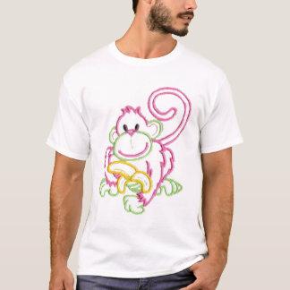Happy Monkey And Banana T-Shirt