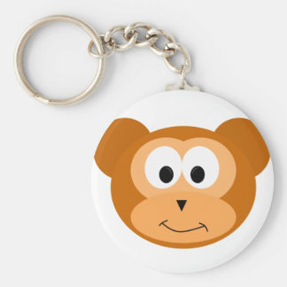 Happy Monkey Keychain