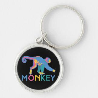 Happy Monkey Keychain