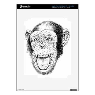 Happy Monkey Decals For iPad 3