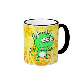 Happy Monster Alien Mug