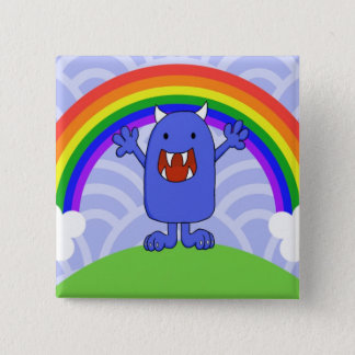 Happy Monster Button