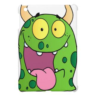 Happy Monster Cartoon Character iPad Mini Case