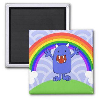 Happy Monster Fridge Magnets
