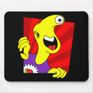 HAPPY MONSTER MOUSE PAD