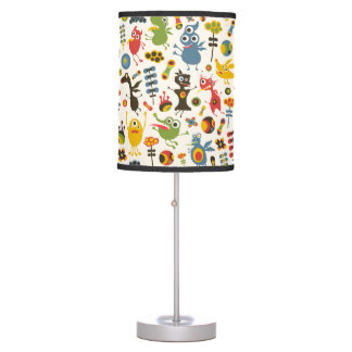 Happy Monsters Table Lamps