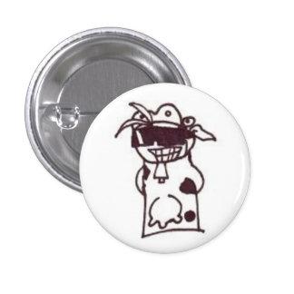 Happy Moo Year 1 Inch Round Button