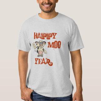 HAPPY MOO YEAR SHIRT