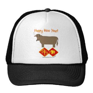 Happy Moo Year Trucker Hat