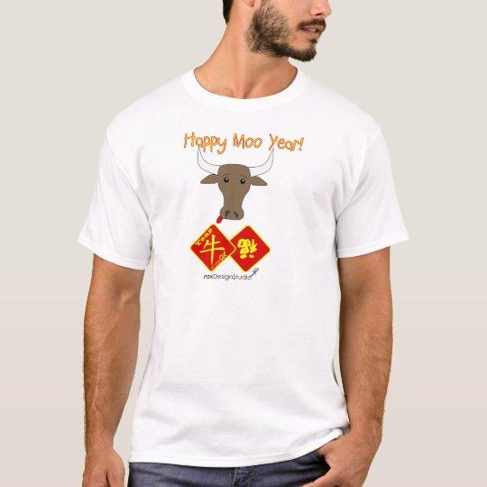 Happy Moo Year v2 T-Shirt