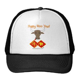 Happy Moo Year v2 Trucker Hat