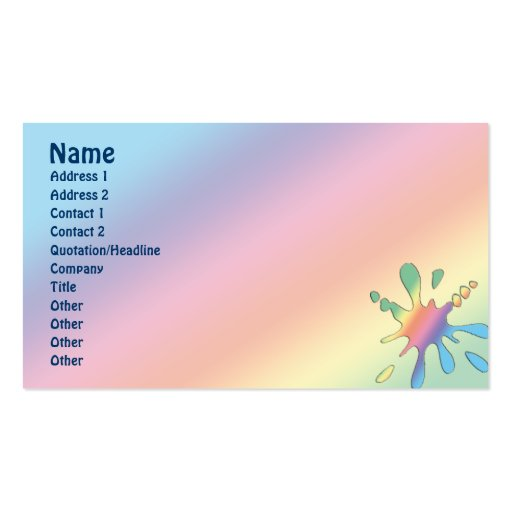 Happy Mood Business Cards Zazzle