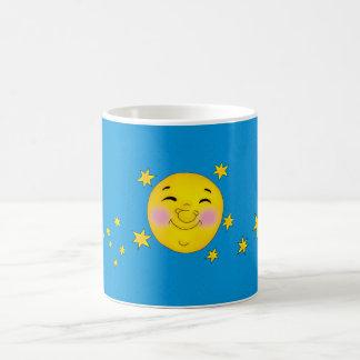 Happy moon coffee mug