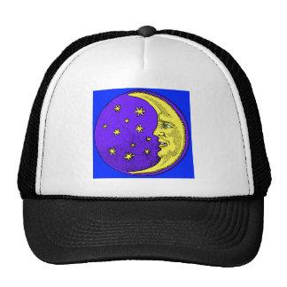 Happy Moon Mesh Hats
