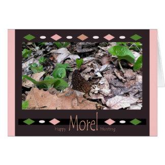 Happy Morel Hunting Card