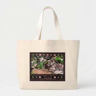 Happy Morel Hunting Custom Tote Bag