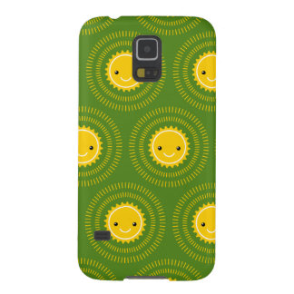 Happy Morning Pattern Art (Exclusive) Case For Galaxy S5