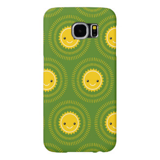 Happy Morning Pattern Art (Exclusive) Samsung Galaxy S6 Case