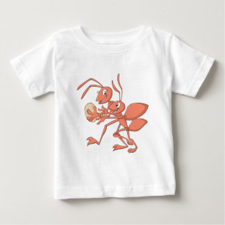 Happy Mother and Child Ant Playing Baby T-Shirt