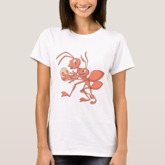 Happy Mother and Child Ant Playing T-Shirt