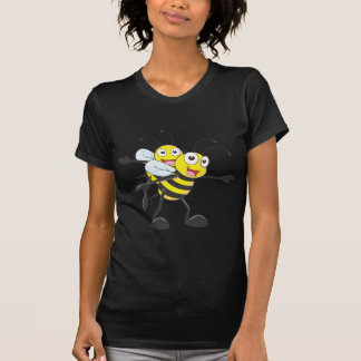 Happy Mother and Daughter Bee Having Fun T-shirt