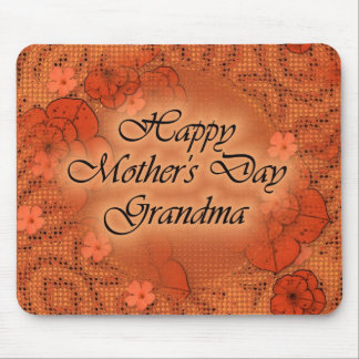 Happy Mother's Day Grandma Mouse Pad