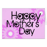 Happy Mother Day Card Flower 1