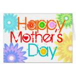 Happy Mother Day Card Flower 3