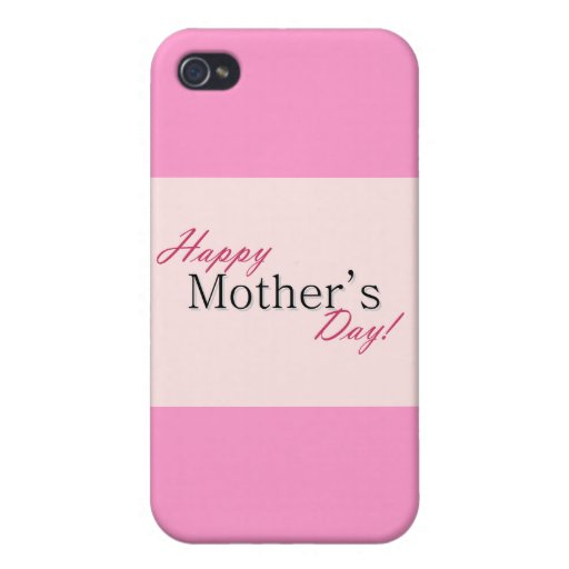 Happy mother day cover for iPhone 4