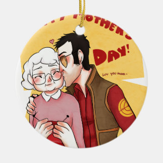 Happy Mother Day Series 3 Christmas Tree Ornaments