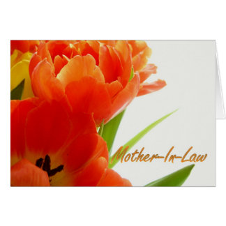 Happy Mother-In-Law Day Mother In Law Card