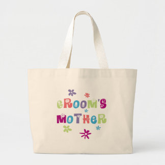 Happy Mother of the Groom Gift Large Tote Bag