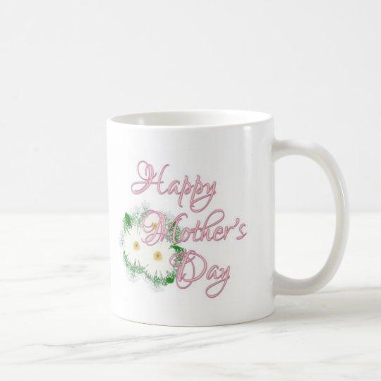 Happy Mother' s Day Daisies Coffee Mug
